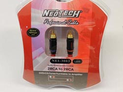 Neotech NEI-3003 Finished Cables - 2m