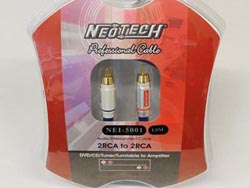 Neotech NEI-5001 Finished Cables - 2m