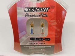 Neotech NEI-5003 Finished Cables - .5m