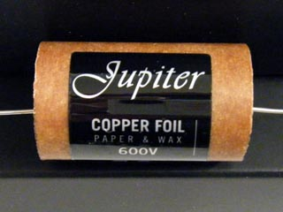 Jupiter Copper Foil 3.3uF 100VDC