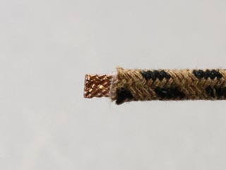 Neotech Braided UPOCC Copper in Cotton 24 AWG